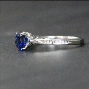 NEW🔥 size 7 HD Sapphire like ring